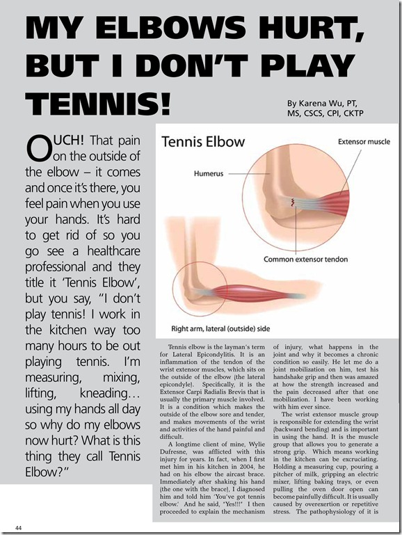 Elbow pain Best PT NY