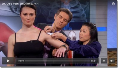 Best Physical Therapist NYC 2013 on Dr. Oz 01