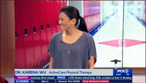 Dr. Karena Wu NYC best PT on PIX 11 News TV