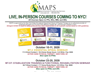 Activecare Physical Therapy   MAPS Courses