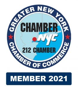 NY Chamber of Commerce Member 2021